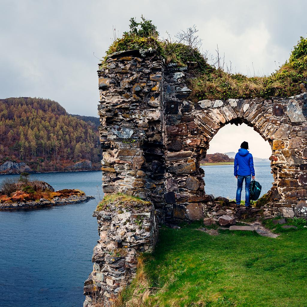 Ocean view with a Scotland vacation package