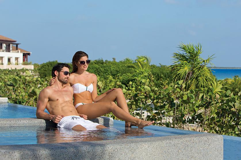 Relax poolside at the perfect adults only retreat with Secrets Resorts & Spas