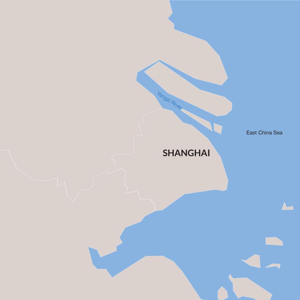 Shanghai vacations map