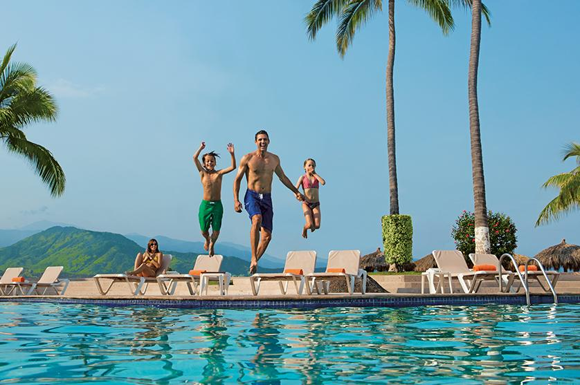 Dive into the pool and into unlimited fun with Sunscape Resorts & Spas