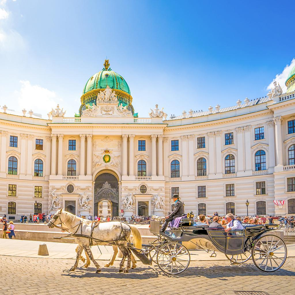 Horse and carriage tours in Vienna