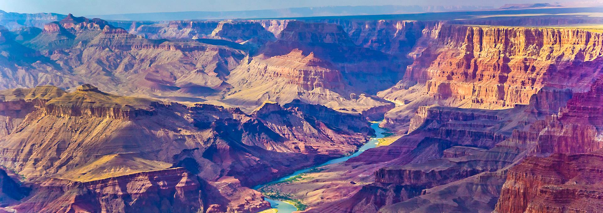 majestic view of the Grand Canyon National Park