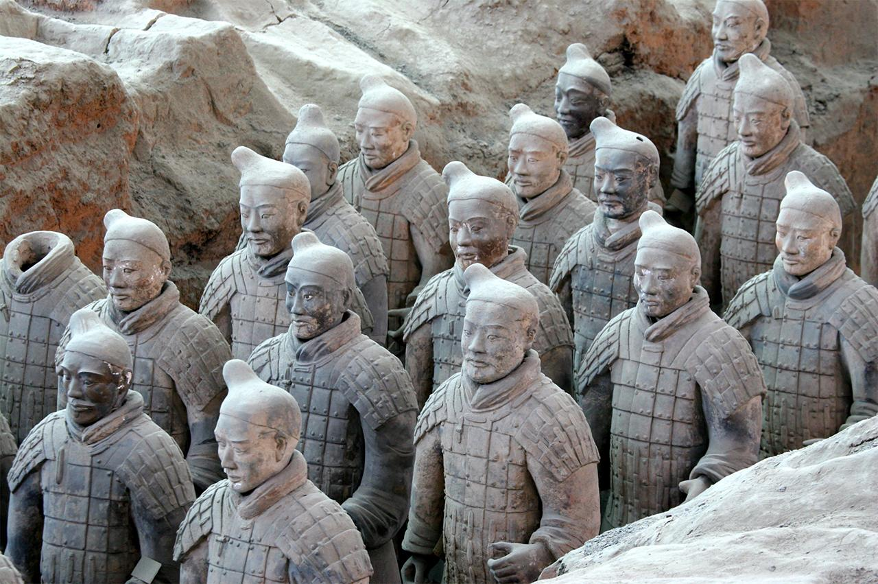 Terracotta Warriors in Xi'an China